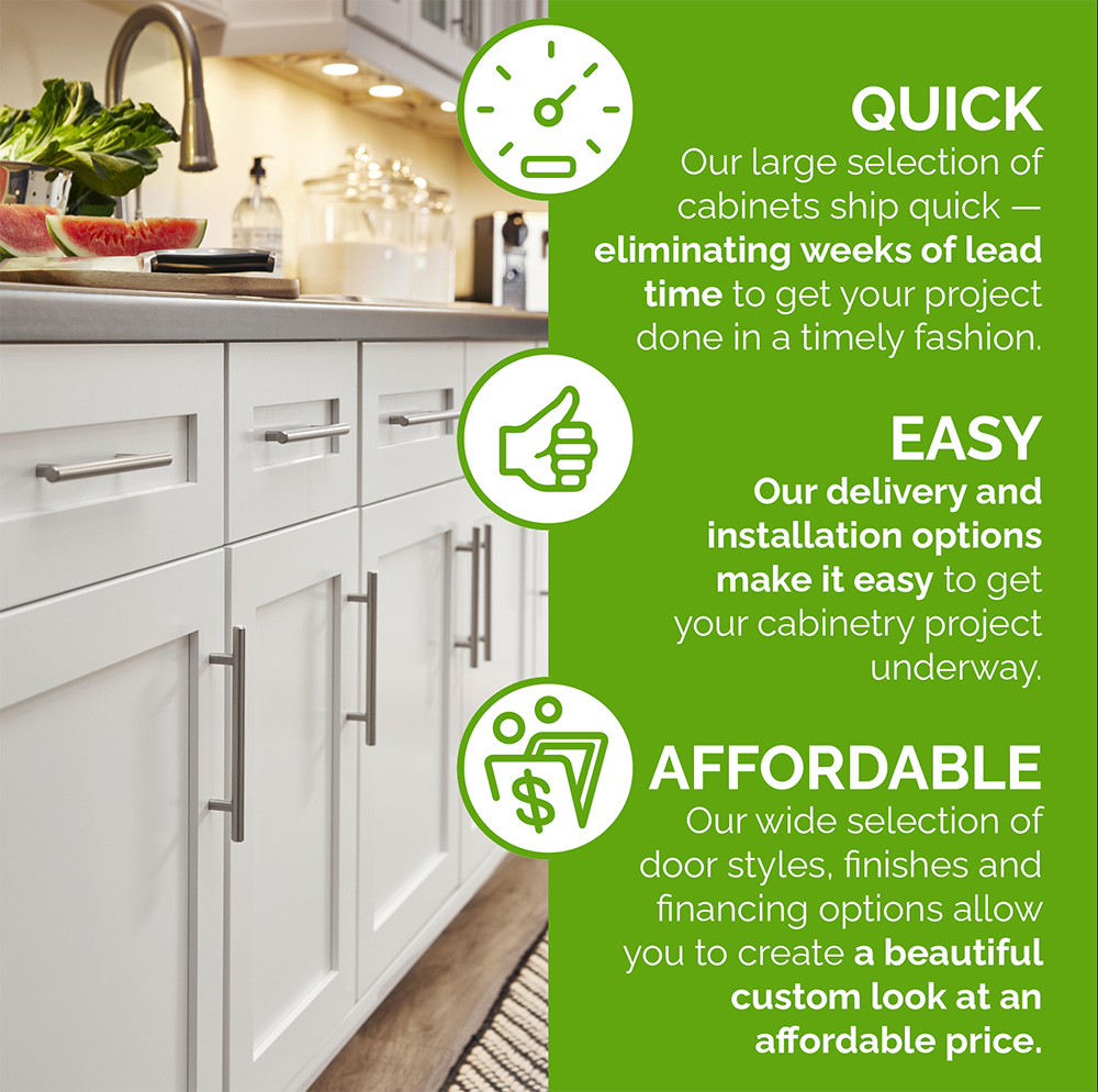 Quick, Easy, Affordable cabinets with Cabinets Express